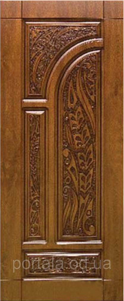 """Вхідні двері """"Портала"""" (серія Еліт) ― модель R-38 Patina"""
