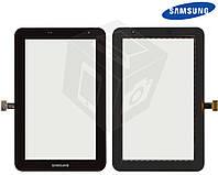 Сенсорный экран (touchscreen) для Samsung Galaxy Tab 2 7.0 P3100 / P3110, Wi-Fi, черный, оригинал