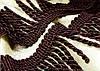 Бахрома, крученая Тёмно-коричневый № 176
