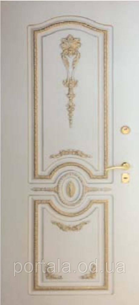 """Входная дверь для улицы """"Портала"""" (Элит Vinorit) ― модель Версаль Patina"""