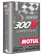 Моторное масло синтетическое  Motul 300V Competition 15W-50