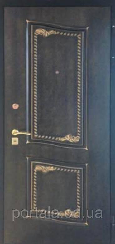 """Входная дверь для улицы """"Портала"""" (Элит Vinorit) ― модель Женева Patina"""