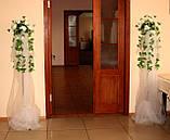 Свадебные композиции из искусственных цветов, фото 3