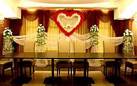 Свадебные композиции из искусственных цветов