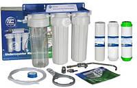 Фильтр для воды, 3 ступени фильтрации Aquafilter FP3-K1
