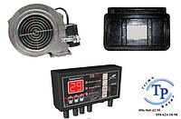 Комплект автоматики для чугунного твердотопливного котла Viadrus U22 (Tech ST 22 + WPA 06 + переходник)