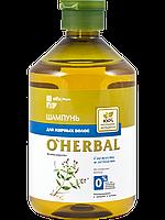 Шампунь для жирных волос O'HERBAL 500мл