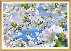 Фотообои, цветы, дерево, Весна, 16 листов, 194х268 см