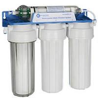 Фильтр для воды, 4 ступени фильтрации Aquafilter FP3-HJ-K1