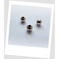 Бусина-разделитель металлическая сталь 8 мм
