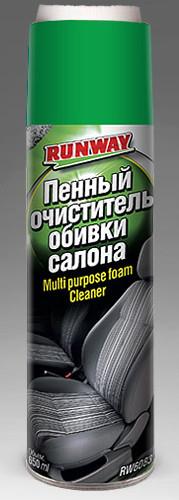 Очиститель обивки салона,химчистка, пена 650мл