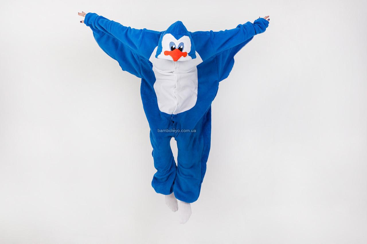 Авторский Кигуруми пижама-костюм Пингвин Петя. Для взрослых и детей. Хенд  Мейд - 0ec9d8480f197