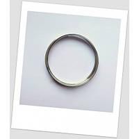 Мемори-проволока для браслета, стального цвета, 60 мм диаметром.