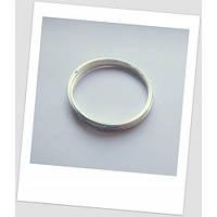 Проволока с памятью для браслетов, серебряного тона, 50-55 мм (подросток, очень тонкое запястье)