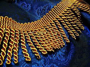 Бахрома, крученая Тёмное Золото № 109, фото 2