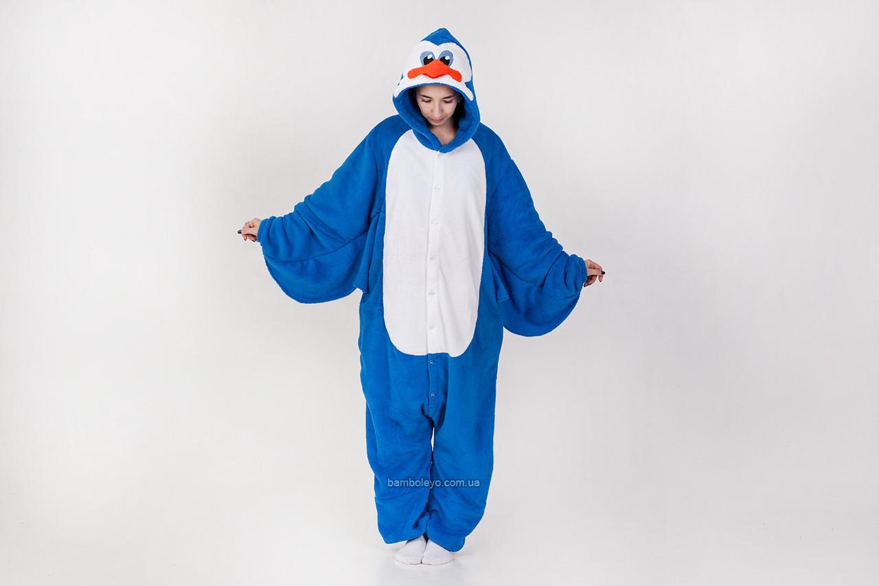 Авторский Кигуруми пижама-костюм Пингвин Петя. Для взрослых и детей. Хенд  Мейд 92508ef2c7d1f