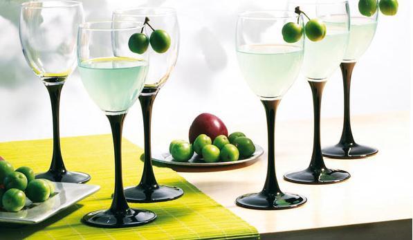 Domino Набор бокалов для вина 250 мл 6 шт Luminarc H8169