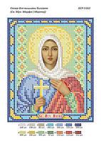 """Схема для вышивки бисером именной иконы """"Св. Муч. Марфа (Марта)"""""""