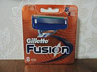 Лезвия для бритья Gillette Fusion (8шт./уп.) Оригинал