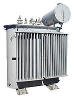 Трансформатор напряжения ТМ-100 кВА 10/0,4 В силовой масляный трехфазный