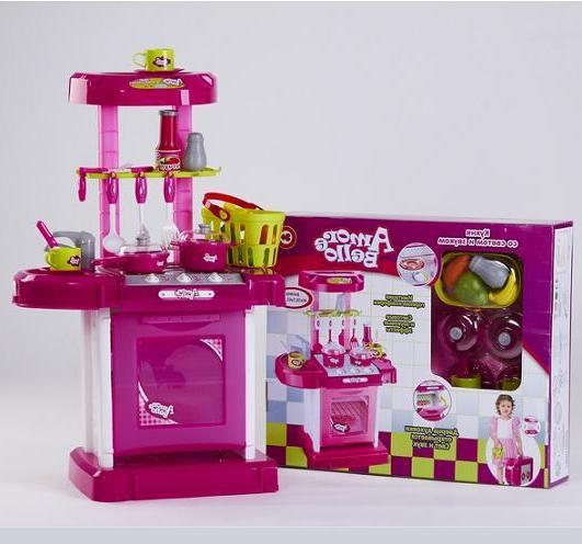 Детская игровая кухня Amore Bello со светом и звуком 7294R/928049R