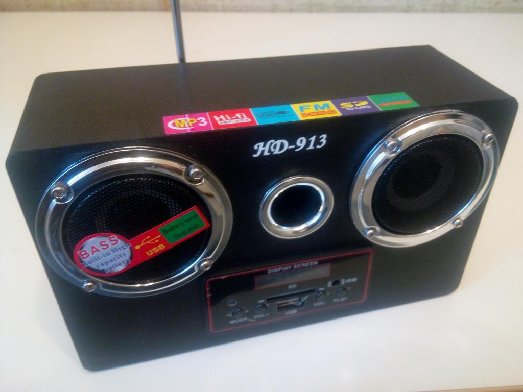 Портативная MP3 колонка, фото 1