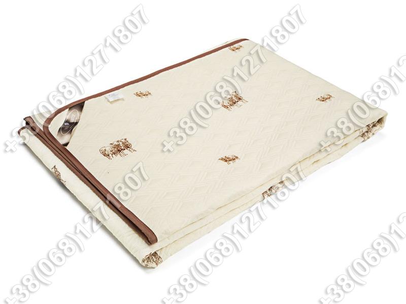 Одеяло шерстяное Руно SHEEP летнее 172х205 двуспальное
