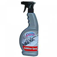 Чистящее средство Gallus для удаления известкового налета и  ржавчины, спрей Германия