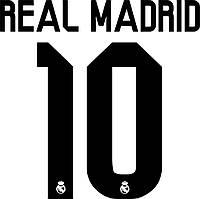 Нанесение номера и фамилии Real Madrid 15\16