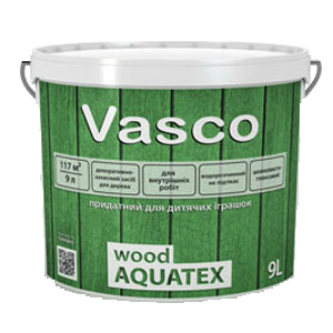 Vasco Wood Aquatex Дуб (Васко Вуд Акватекс), 9 л