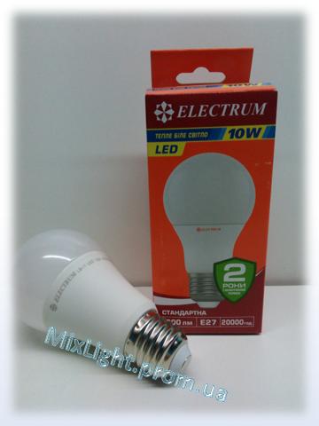Светодиодная лампа Electrum A55 10W 3000К