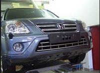 Решетка в бампер Honda CRV 2005-2007