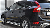 Пороги, подножки  Volvo XC60 2010-  / Вольво Ø60, без проступей