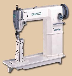 Промышленная швейная машина Siruba P717-01 на колонковой платформе
