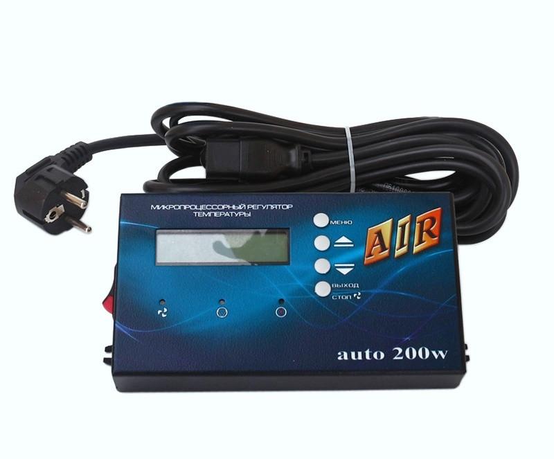 Регулятор для твердотопливного котла AIR AUTO в металлическом корпусе