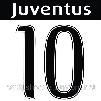 Нанесение номера и фамилии Juventus, фото 2