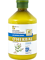 Бальзам-кондиционер для жирных волос O'HERBAL 500мл
