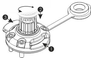 Инструкция по установке держателя удилища в универсальный замок FASTen