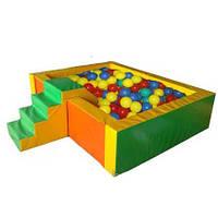 Бассейн сухой «Горка» детский в игровую зону