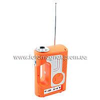 Фонарь переносной(фонарь светодиодный аккумуляторный) YAJIA YJ-2889 SY, 1W+30LED, USB, радио