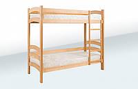 Ліжко двохярусне підліткове (1900*800) (бук)