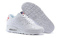 "Кроссовки Nike Air Max 90 Independence Day ""White"" - ""Белые"""