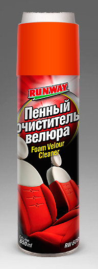 Пенний очиститель велюра (аэроз)