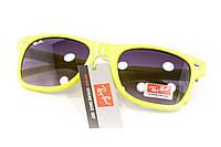 Очки wayfarer желтые 2124-1, фото 1