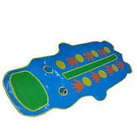 Детский Массажный коврик-тренажер «Бегемотик»