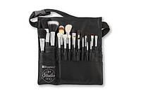 Пояс визажиста в наборе с кистями 18 pc Studio Pro Brush Set BH Cosmetics Оригинал
