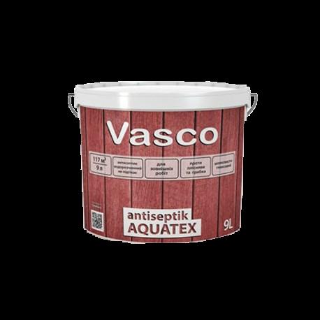 Vasco Antiseptik Aquatex Белый (Васко Антисептик Акватекс), 9 л