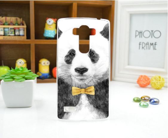 Чехол для LG G4s панель накладка с рисунком панда