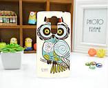 Чехол для LG G4s панель накладка с рисунком принцесса, фото 3