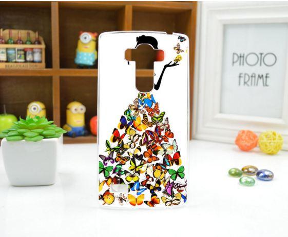 Чехол для LG G4s панель накладка с рисунком принцесса